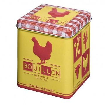 Bo te pour cubes et bouillons poule l 39 picerie comptoir de - Comptoir de famille salon de provence ...
