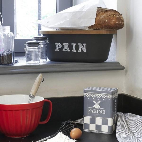 Bo te pain noire avec planche bambou comptoir de famille provence ar mes tendance sud - Comptoir de famille salon de provence ...
