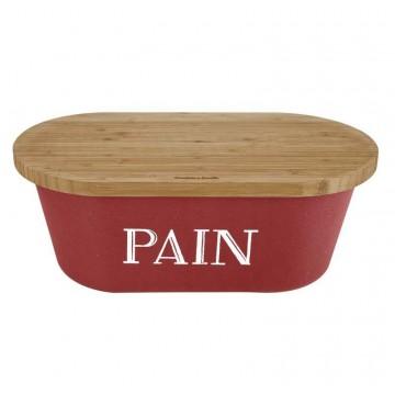 Huche a pain exterieur amazing boite sac a pain frandis - Huche a pain rouge ...