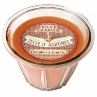 Bougie Zeste d'agrumes Bougie Comptoir de Famille collection Bougie Gourmande
