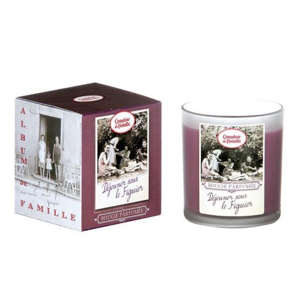 Bougie parfum e d jeuner sous le figuier comptoir de famille provence ar mes tendance sud - Le comptoir de famille catalogue ...
