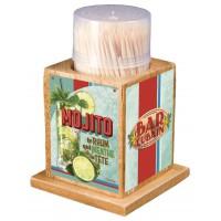Boîte à Cure dents MOJITO Natives déco rétro vintage