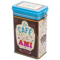 Boîte à café TON AMI Natives déco rétro vintage