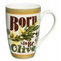 Mug BORN TO BE OLIVE Natives déco rétro vintage