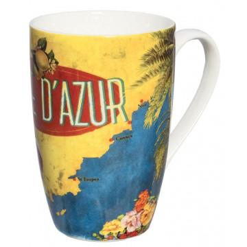Mug CÔTE D'AZUR Natives déco rétro vintage