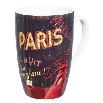 Mug PARIS LA NUIT Natives déco rétro vintage