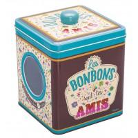 Boîte à bonbons TON AMI Natives déco rétro vintage