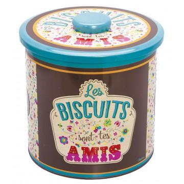 Boîte à biscuits TON AMI Natives déco rétro vintage