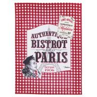 Torchon BISTROT DE PARIS Natives déco rétro vintage
