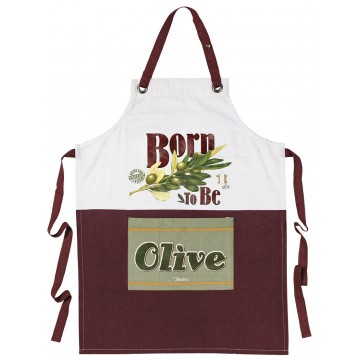 Tablier de cuisine BORN TO BE OLIVE Natives déco rétro vintage
