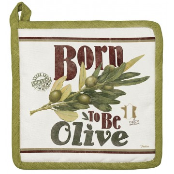 Manique BORN TO BE OLIVE Natives déco rétro vintage