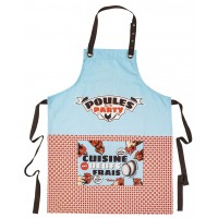 Tablier de cuisine POULES PARTY Natives déco rétro vintage