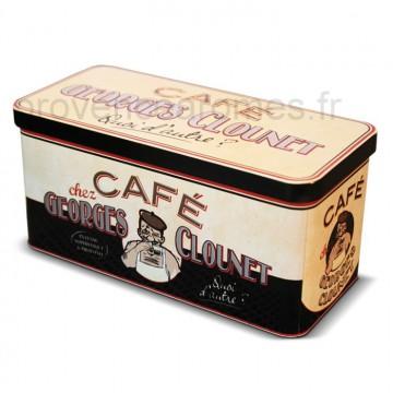 """Boîte à dosettes """"George Clounet"""""""