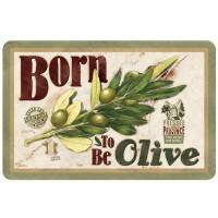 Set de Table BORN TO BE OLIVE Natives déco rétro vintage