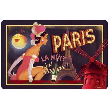Set de Table PARIS LA NUIT Natives déco rétro vintage