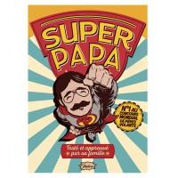 Carte postale SUPER PAPA Natives déco rétro vintage