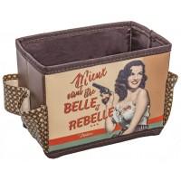 Organiseur produits de soins et beauté BELLE et REBELLE Natives déco rétro vintage