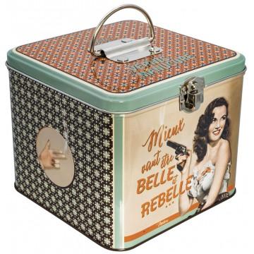 Boîte à vernis et manucure BELLE ET REBELLE Natives déco rétro vintage
