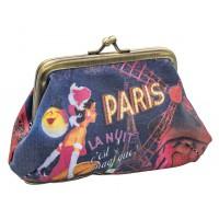 Porte-monnaie PARIS LA NUIT Natives déco rétro vintage
