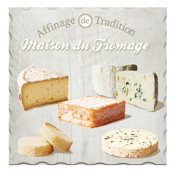 Dessous de plat maison du fromage affinage de tradition for Affinage fromage maison