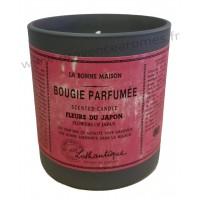 Bougie Parfumée FLEURS DU JAPON Lothantique La Bonne Maison