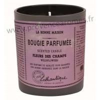 Bougie Parfumée FLEURS DES CHAMPS Lothantique La Bonne Maison
