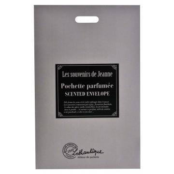 Pochette parfumée LES SOUVENIRS DE JEANNE Lothantique