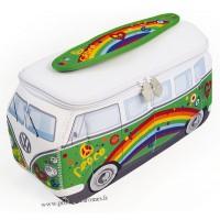 Trousse de toilette vw combi Volkswagen peace and love Brisa rétro vintage collection