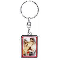 Porte-clés chien CAIRN TERRIER en métal