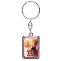 Porte-clés chien BRAQUE HONGROIS en métal