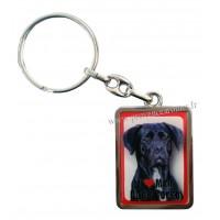 Porte-clés chien CANE CORSO en métal