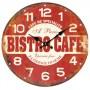 Horloge BISTRO CAFÉ PARIS déco rétro
