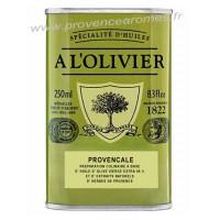 Huile d'olive Provençale A L'Olivier Bidon 250 ml