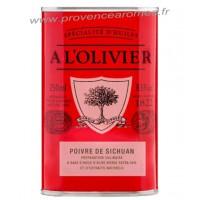 Huile d'olive au Poivre de Sichuan A L'Olivier Bidon 250 ml