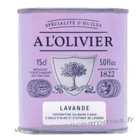 Huile d'olive à la Lavande A L'Olivier Bidon 150 ml