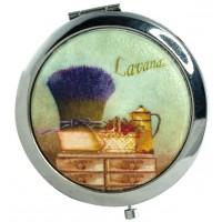 Miroir de poche Provence LAVANDE ROMARIN