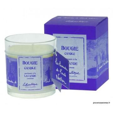 """Bougie parfumée """" Les Lavandes de l'oncle Nestor """" Lothantique"""