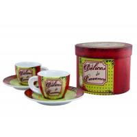 Coffret de 2 tasses à café DÉLICES de PROVENCE