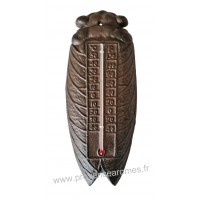 Thermomètre CIGALE en fonte