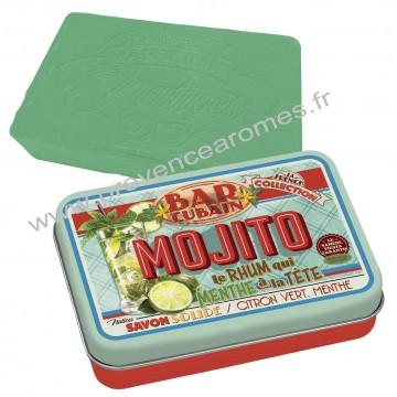 Boîte et savon MOJITO Natives déco rétro vintage