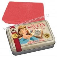 Boîte et savon de la PRINCESSE Natives déco rétro vintage