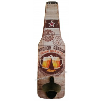D capsuleur mural bouteille bi re soir e mousse d co r tro - Decapsuleur automatique biere ...