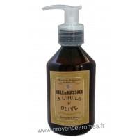 Huile de massage à l'huile d'olive Un été en Provence