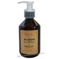 Gel douche à l'huile d'abricot Un été en Provence