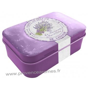 Boîte à savon PARFUM DE LAVANDE