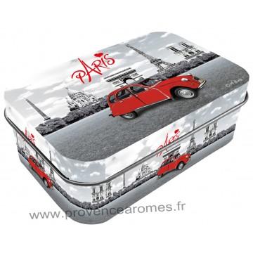 Boîte à savon PARIS 2CV (deux chevaux) déco rétro