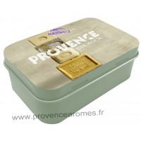 Boîte à savon SAVON DE MARSEILLE PROVENCE 100% Végétale