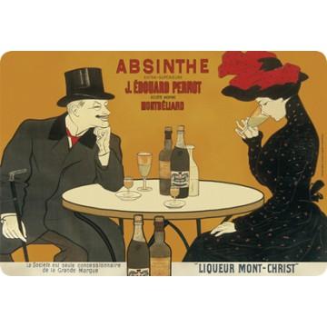 set de table absinthe pernot d co r tro vintage. Black Bedroom Furniture Sets. Home Design Ideas