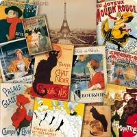 Dessous de Plat Patchwork PARIS déco publicité rétro vintage
