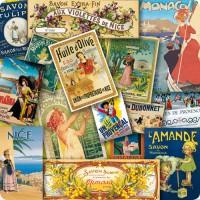 Dessous de Plat Patchwork PROVENCE déco publicité rétro vintage
